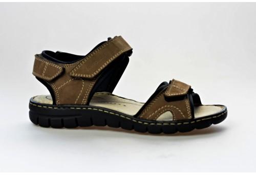JOSEF SEIBEL dámský letní sandál 93401 Stefanie 01 taupe/kombi
