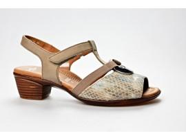 ARA dámský letní sandál 12-35715-16 taupe šíře H