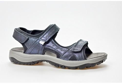 SALAMANDER dámský sandál 32-15501-39 modrá/perleť
