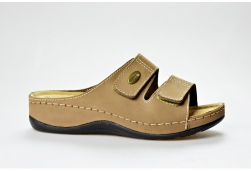 TAMARIS dámská pantofle 27510-20 béžová
