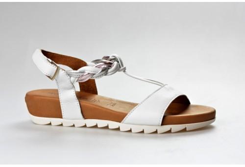 TAMARIS dámský sandál 28709-20 bílá/combi