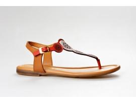 S.OLIVER dámský sandál 28102-20 červená