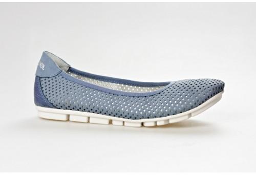 S.OLIVER dámská mokasína 22103-20 blue comb