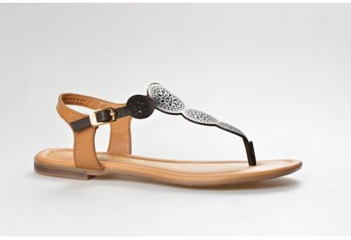 S.OLIVER dámský sandál 28102-20 mocca