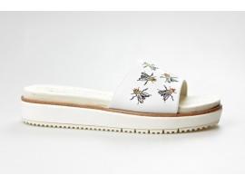 TAMARIS dámský pantofel 27105-20 offwhite/fly