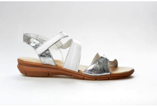 TAMARIS dámský sandál 28711-20 white/silver