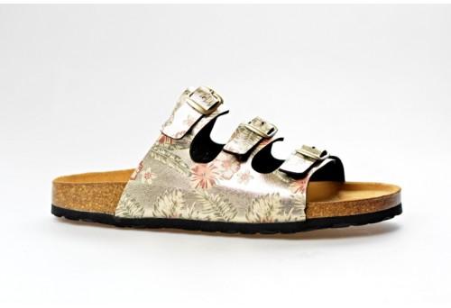 BIO LIFE zdravotní pantofle dámská 001 Laura bílá