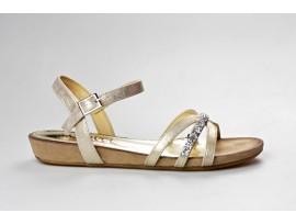 S.OLIVER dámský sandál 28112-30 gold