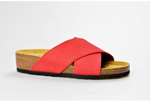 BIO LIFE zdravotní pantofle dámská 1484.58 červená