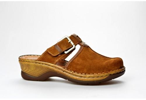 JOSEF SEIBEL dámská pantofle 56466-924 Catalonia 17 brandy