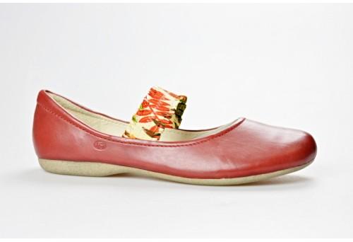 JOSEF SEIBEL dámská balerínka 72701-971 Elsa 01 červená