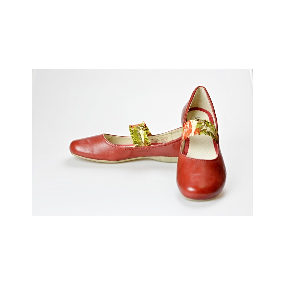 JOSEF SEIBEL dámská balerínka 72701-971 Elsa 01 červená 39a45990ea