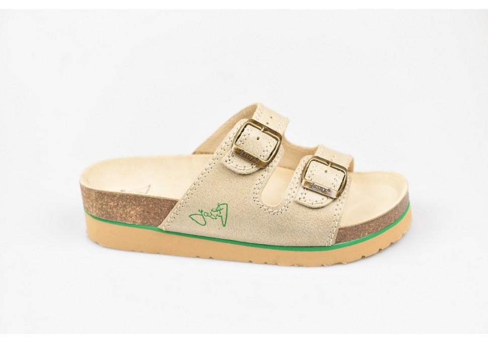 JASNÝ zdravotní pantofle dámská 2002 PKS2 béžová 48d229bb01