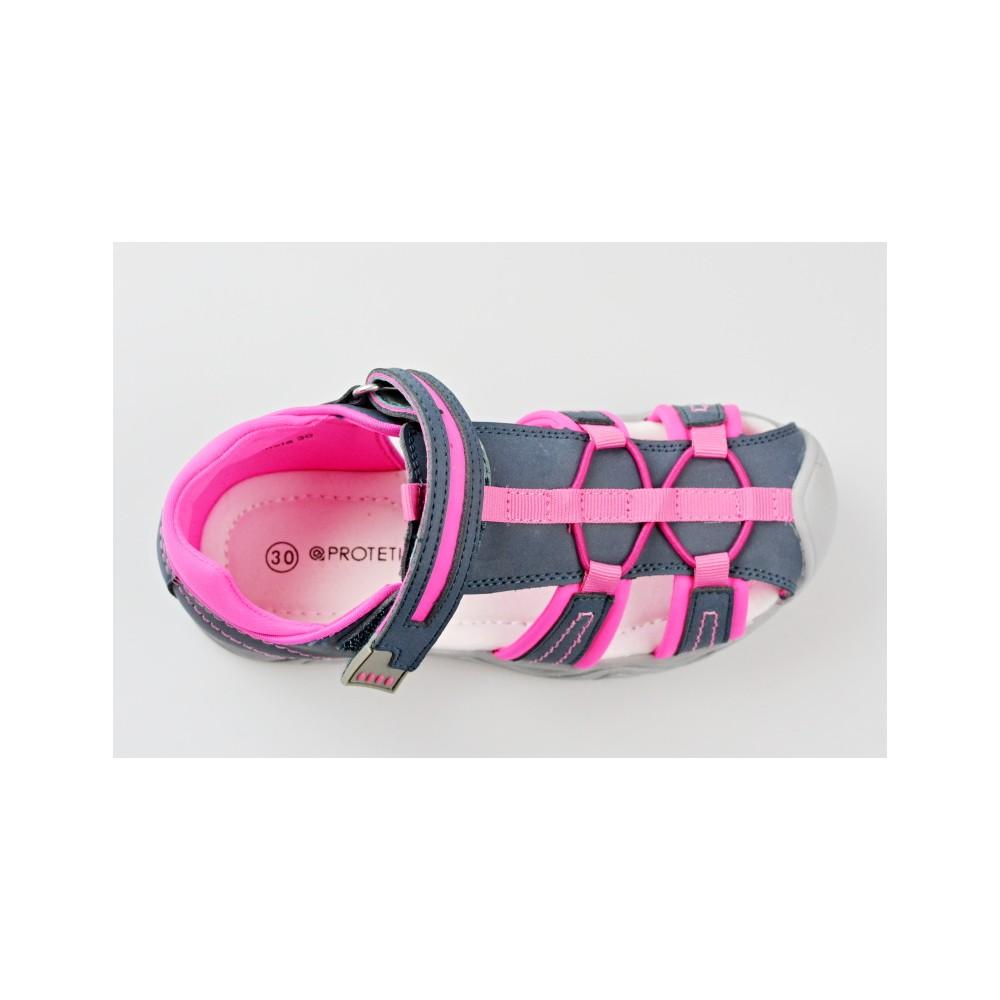 a6414096549 PROTETIKA dětský letní sandál Art fuxia