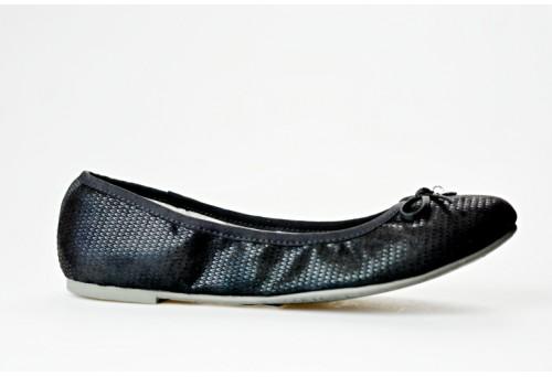 S.OLIVER dámská balerínka 22106-20 černá