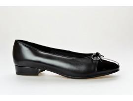 ARA dámská balerínka 12-43708-01 černá/lak šíře F