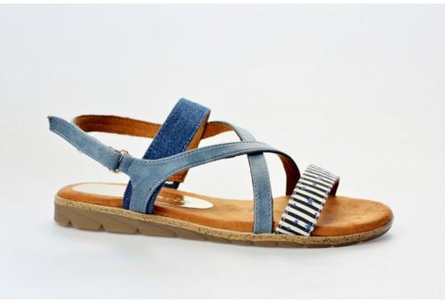 TAMARIS dámský sandál 28131-20 navy comb