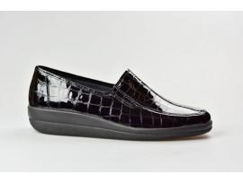 COMFORTABEL dámská mokasína 941355-1 černá kroko