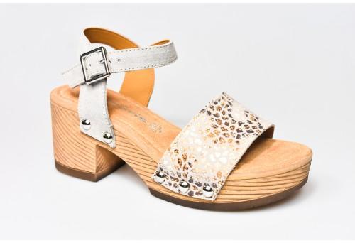 TAMARIS dámský sandál 28036-28 taupe